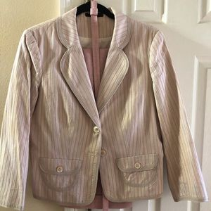 Women's pant and jacket suit